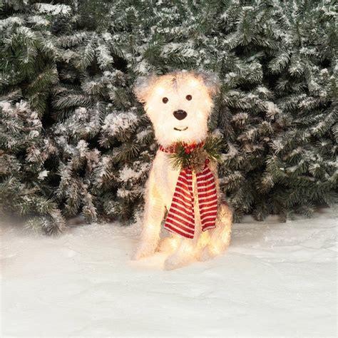 light  dog christmas decoration psoriasisgurucom