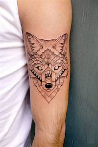 Tatouage Loup Geometrique : geometrische tattoos bilder 40 fantastische varianten ~ Melissatoandfro.com Idées de Décoration