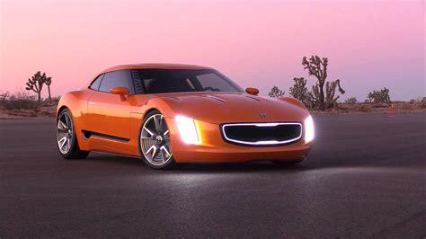 Kia Gt4 Stinger Concept Broll Video Youtube