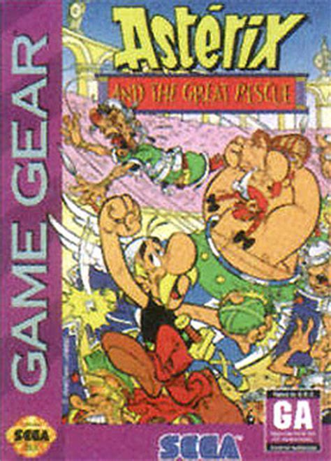 asterix   great rescue sur game gear jeuxvideocom