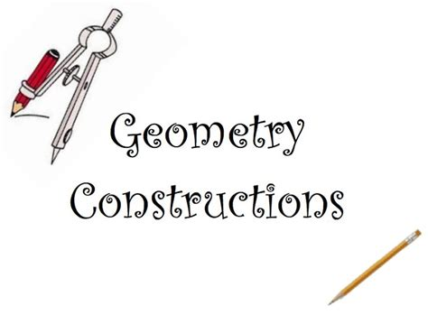 13 about geometry constructions on