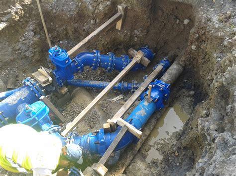 chambre de comptage aep adduction en eau potable réseaux aep entreprise travaux