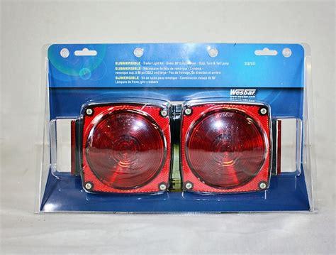 wesbar submersible trailer light kit 2527511
