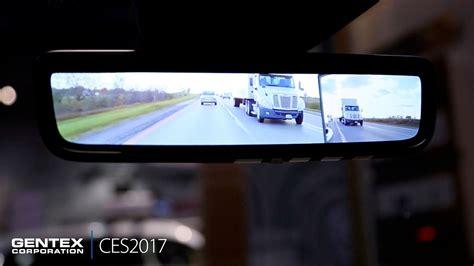 ces  gentex camera monitoring system cms youtube