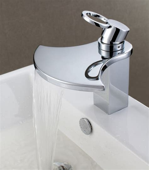 modern kitchen sink faucets sumerain s1262cw waterfall bathroom sink faucet modern