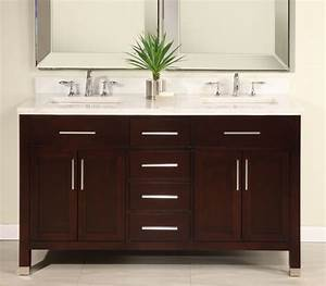 60 inch double sink modern dark cherry bathroom vanity for 60 inch bathroom vanity double sink