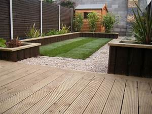 glasnevin decking project gardenviewsie With decking designs for small gardens