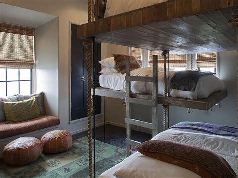 Rope Bunk Beds  Mediterranean  Boy's Room  Alys Beach