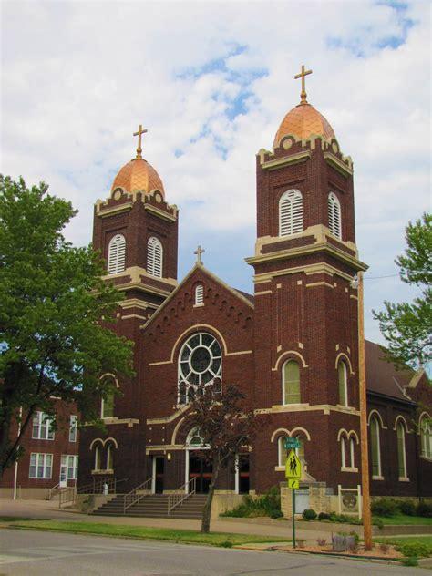 sacred heart catholic church arkansas city kansas flickr