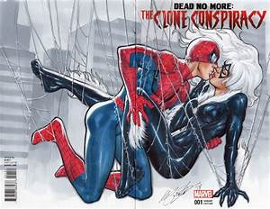 Spider-man & Black Cat first kiss, in Marco Santucci's ...