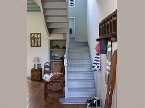 idee deco entree avec escalier With idee deco entree avec escalier