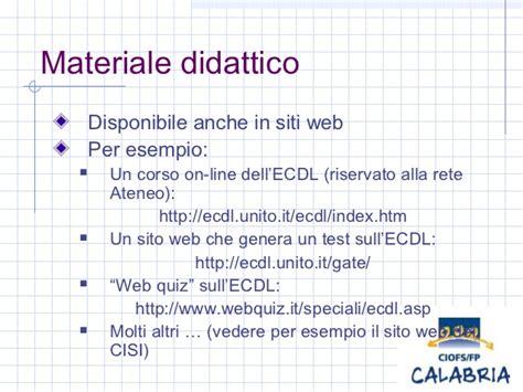 Modulo 1 Ecdl Dispense by Ecdl
