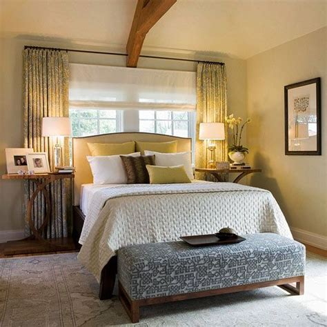 Bedroom Decorating Ideas Bed Window decorating ideas beautiful neutral bedrooms mbr