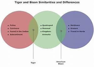Tigers And Bison Venn Diagram