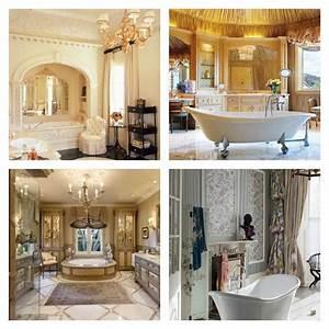 Decoration De Salle De Bain : d co salle de bain de luxe et style baroque ~ Teatrodelosmanantiales.com Idées de Décoration
