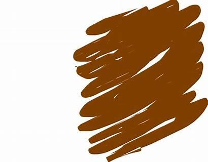 Scribble Brown Clip Clipart Clker