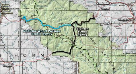 bighorn scenic byway wyoming scenic byways