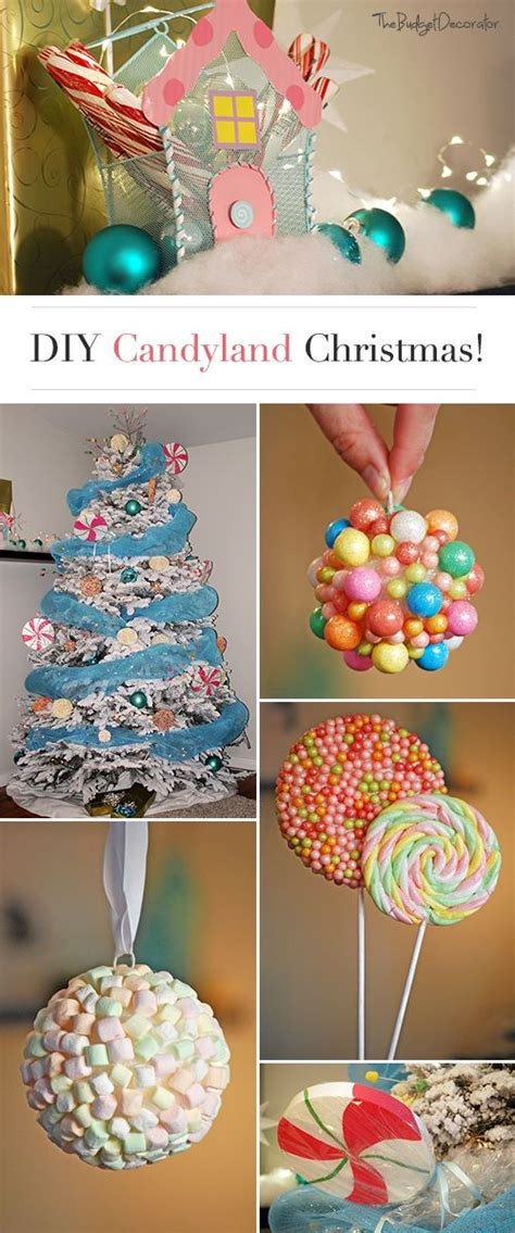 candyland christmas theme tree christmas trees candyland and tutorials