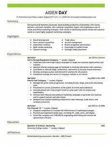 Beautiful sample resume for experienced marketing for Sample resume for experienced marketing professional