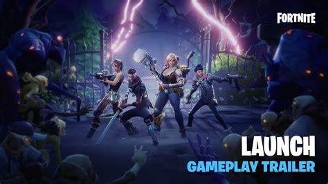 fortnite launch gameplay trailer mentalmars