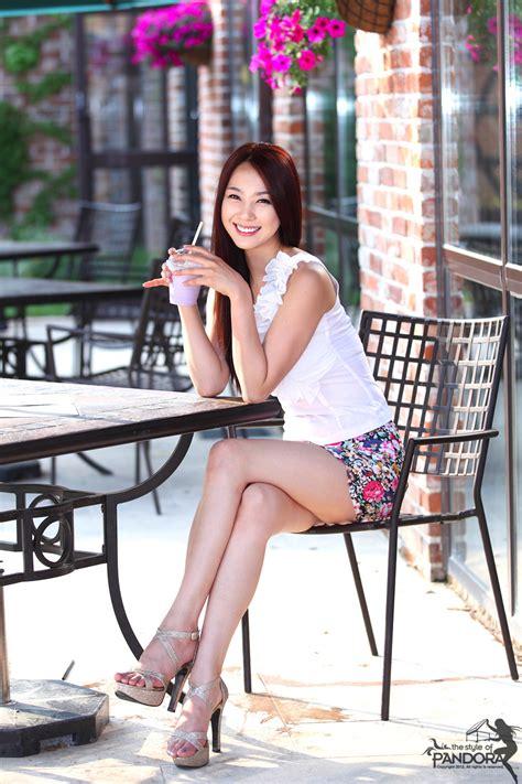 Cute Asian Girl Ju Da Ha Outdoor