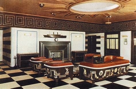 M&s Home Design Service : 1929 Aboard Swedish America Line's Ms