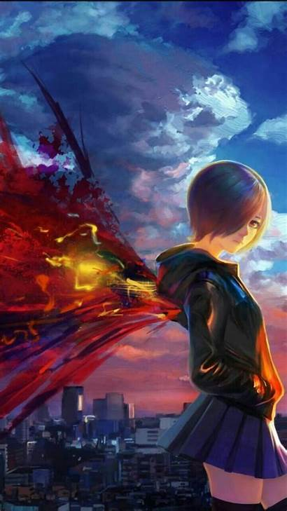 Ghoul Tokyo Touka Android Anime Sotoak Wallpapers