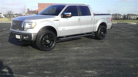 2012 Ford F150 Supercrew Leveled With 33 Inch Tires