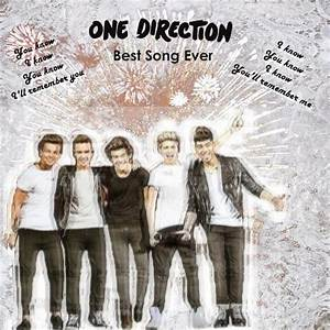 One Direction Best Song Ever Cover Design - One Direction ...