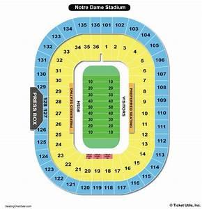 Notre Dame Stadium Seating Chart