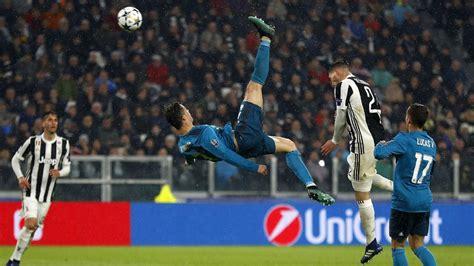 ronaldos iconic overhead kick reveals    hes