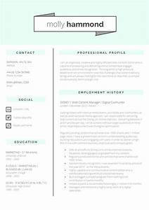 13 slick and highly professional cv templates guru With cv layout