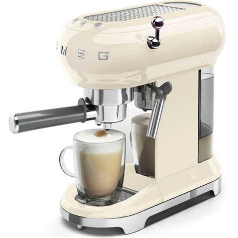 Espresso coffee machines and drip coffee machines, appliances combination of quality, technology, style and design of smeg. Buy Smeg ECF01CRUK 50's Retro Style Espresso Coffee ...