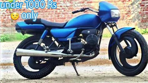 Modified Your Bike by How To Modified Your Bike Splendor 1000 Rs