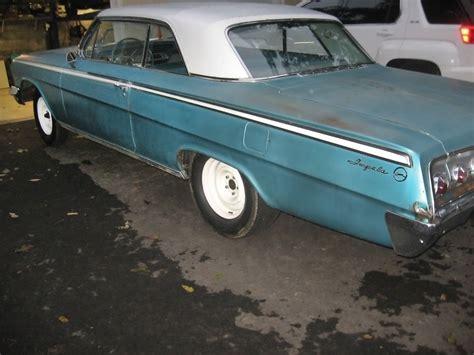 impala 1962 chevrolet almost done