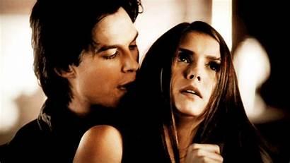 Delena Gifs Elena Damon Vampire Diaries Couple