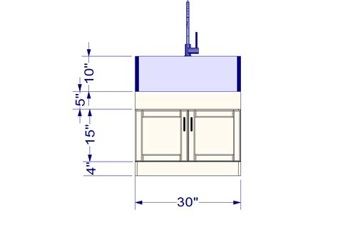 Ikea Domsjo Sink Measurements ikea kitchen hack a base cabinet for farmhouse sinks and