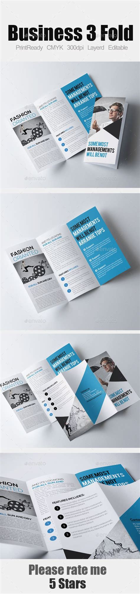 Graphicriver Brochure Tri Fold A4 Series 1 50 Best Church Images On Brochures Brochure