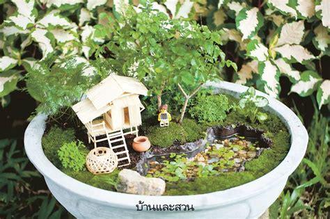 Miniature Landscape สวนถาด   ตกแต่งสวน, ปลูกดอกไม้, สวนจิ๋ว