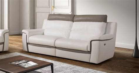grand canapé d angle en u ricardo relaxation électrique ou fixe relaxation grand
