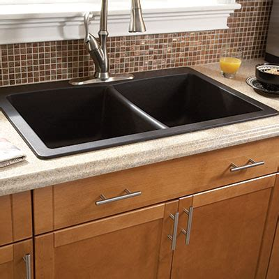 selecting  ideal kitchen sink   home depot