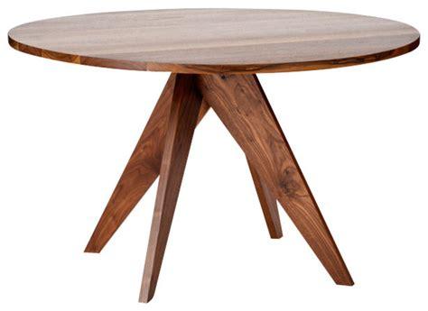 Moderner Runder Esstisch by Walnut Dining Table Modern Dining Tables By