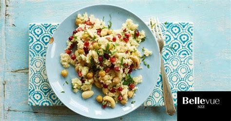 couscous salat mit kichererbsen rezept nzz bellevue