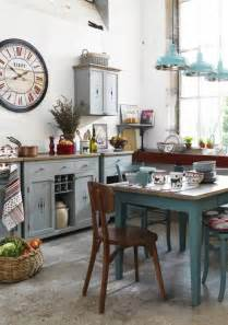 Turquoise Kitchen Canisters Shabby Chic Interior Design Ideas