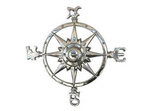 Nautical Ceiling Fans by Buy Chrome Rose Compass 23 Inch Nautical Accessories Old