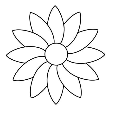 Kleurplaat Bloemen by Mooie Kleurplaat Vlinder Op Bloem Krijg Duizenden