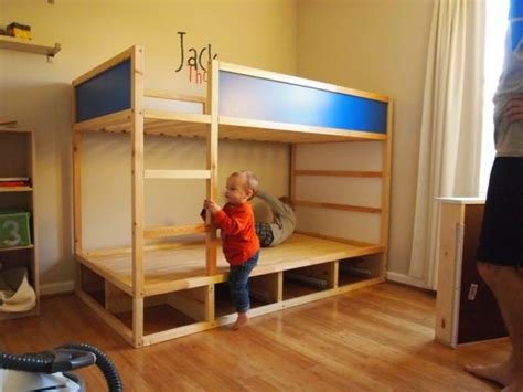 Malm Bed Hack by 45 Cool Ikea Kura Beds Ideas For Your Kids Rooms Digsdigs
