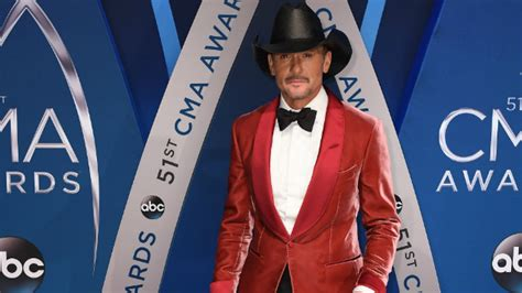 Tim Mcgraw Says He
