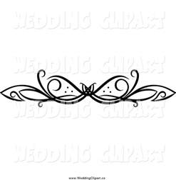 wedding photographers nj wedding swirl clipart clipart suggest