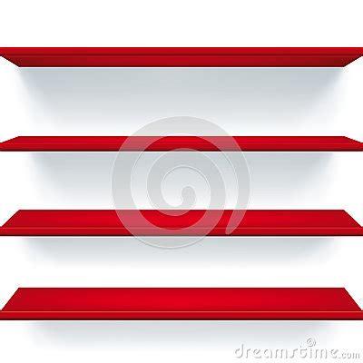 Mensole Rosse Mensole Rosse Immagini Stock Libere Da Diritti Immagine